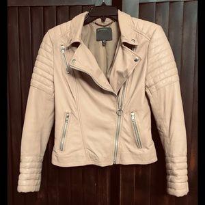 Authentic Muubaa  Leather Biker Jacket